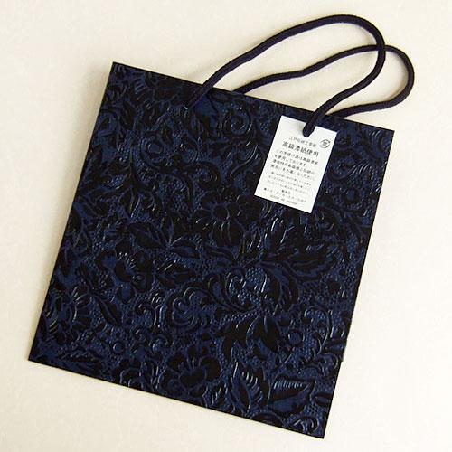 黒バラ紙バッグ