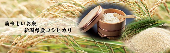 美味しいお米新潟県産コシヒカリ