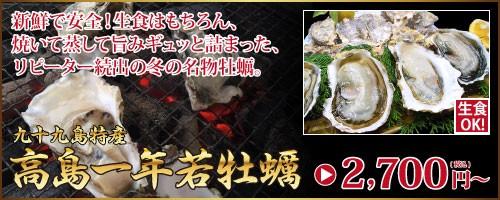 高島一年若牡蠣