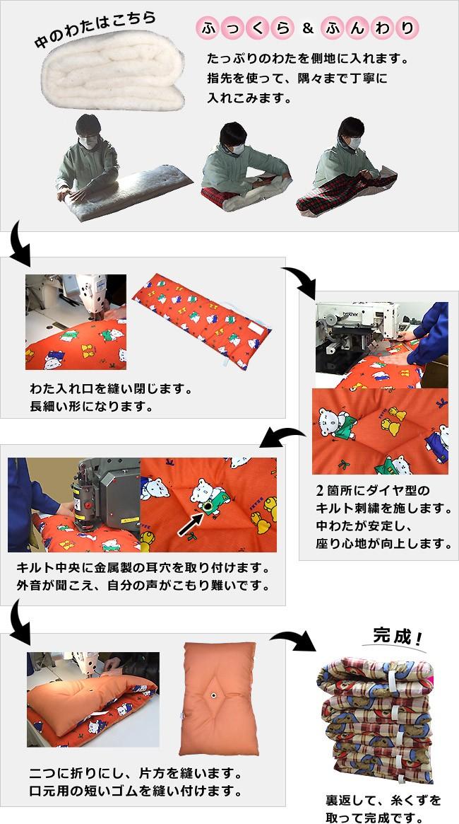 茅ヶ崎工場の職人が1枚ずつ手作りしています
