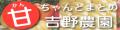 甘ちゃんとまとの吉野農園 ロゴ