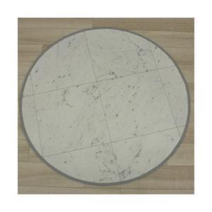 汚れに強く撥水する 抗菌 防かび機能付き クッションフロア 円形マット (SL) 直径 約80cm|youai|07