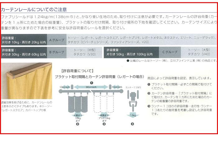 放射能対策カーテン ファブリシールド