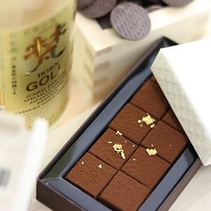 無濾過純米大吟醸生チョコレート