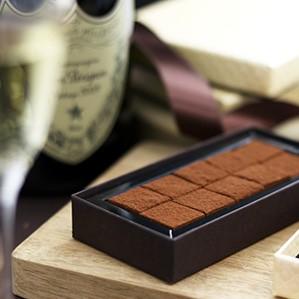 プレミアムシャンパン生チョコレート
