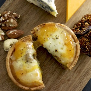 とろり4種の焼きチーズタルト