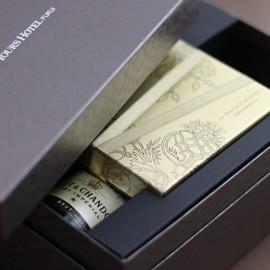 モエ・エ・シャンドンとシャンパン生チョコレート・スペシャルエディション