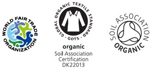 オーガニック認証団体等のロゴ