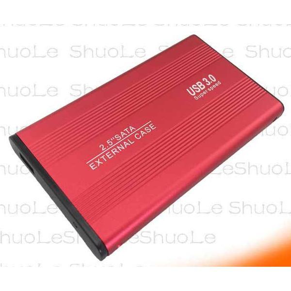 2.5インチ SSD HDD 外付け ドライブ ケース ポータブル型 SATA3.0 USB3.0 USB3.0ケーブル付属 高剛性アルミ合金 超軽量 取付簡単 ysmya 15