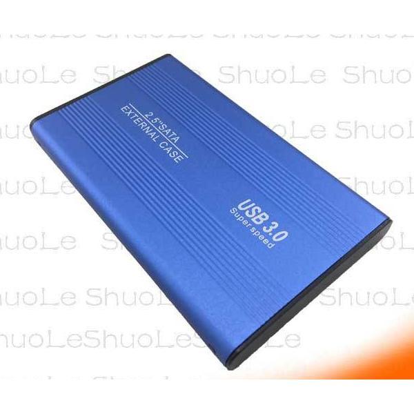 2.5インチ SSD HDD 外付け ドライブ ケース ポータブル型 SATA3.0 USB3.0 USB3.0ケーブル付属 高剛性アルミ合金 超軽量 取付簡単 ysmya 12