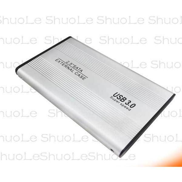 2.5インチ SSD HDD 外付け ドライブ ケース ポータブル型 SATA3.0 USB3.0 USB3.0ケーブル付属 高剛性アルミ合金 超軽量 取付簡単 ysmya 14