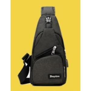 ボディバッグで携帯充電! 4タイプ 選べる14種  USBポート搭載 ケーブル付メンズ レディース ワンショルダー ボディーバッグ 軽量 斜めがけ ウエストポーチ|ysmya|21