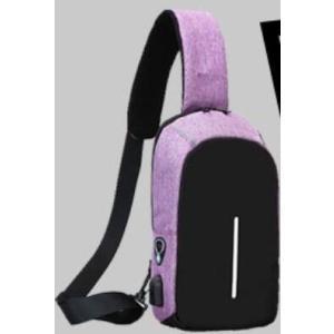 ボディバッグで携帯充電! 4タイプ 選べる14種  USBポート搭載 ケーブル付メンズ レディース ワンショルダー ボディーバッグ 軽量 斜めがけ ウエストポーチ|ysmya|34