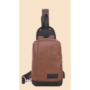期間限定セール バッグで携帯充電 2Wayバッグ メンズ 6タイプ 選べる18種 USBポート搭載 ケーブル付 ボディバッグ メンズ レディース ワンショルダー ysmya 30