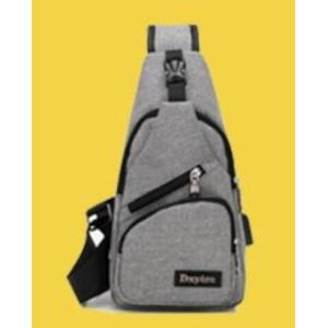 ボディバッグで携帯充電! 4タイプ 選べる14種  USBポート搭載 ケーブル付メンズ レディース ワンショルダー ボディーバッグ 軽量 斜めがけ ウエストポーチ|ysmya|22