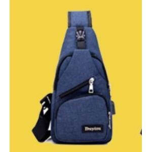 ボディバッグで携帯充電! 4タイプ 選べる14種  USBポート搭載 ケーブル付メンズ レディース ワンショルダー ボディーバッグ 軽量 斜めがけ ウエストポーチ|ysmya|23
