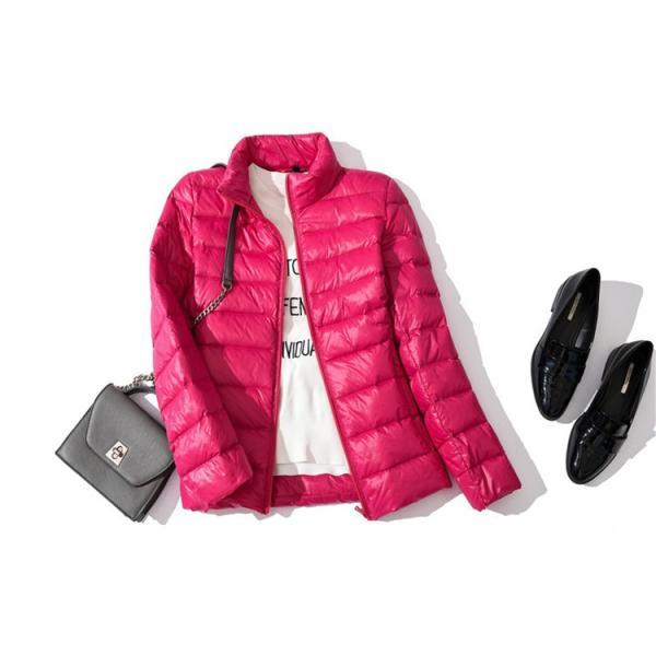 ライトダウンジャケット レディース ショート丈 ライトジャケット 軽量 薄手 ジャケット レディースダウンコート ショート シップアップ|ytolive|17