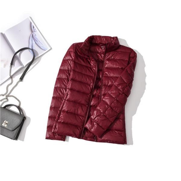 ライトダウンジャケット レディース ショート丈 ライトジャケット 軽量 薄手 ジャケット レディースダウンコート ショート シップアップ|ytolive|18