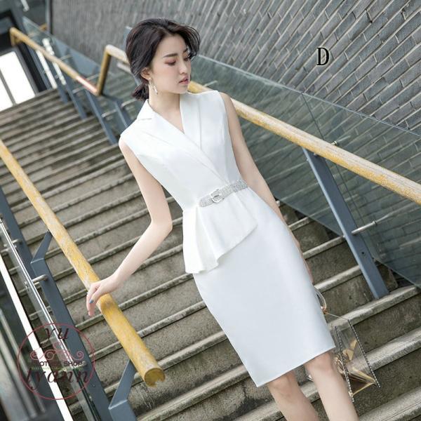 パーティードレス 結婚式 フォーマル ワンピース ドレス 二次会 フォーマルドレス お呼ばれ 大きいサイズ 通勤 入学式 発表会 卒業会 ノースリーブ 大人 上品|yu-tyann|25