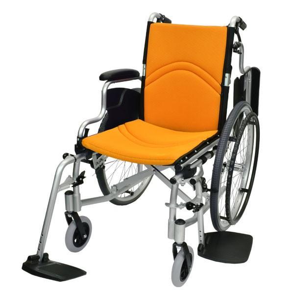 車椅子 折りたたみ 自走 ケアテックジャパン コンフォート CAH-50SU 多機能 シート交換可能|yua-shop|15