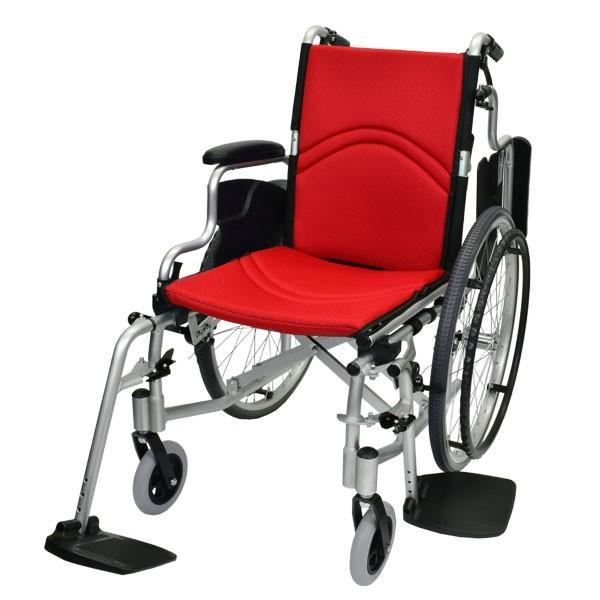 車椅子 折りたたみ 自走 ケアテックジャパン コンフォート CAH-50SU 多機能 シート交換可能|yua-shop|16