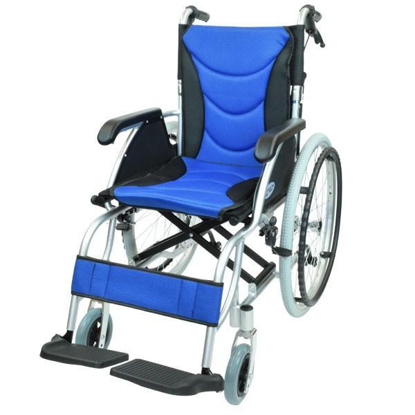 車椅子 軽量 折りたたみ コンパクト ケアテックジャパン ハピネスプレミアム CA-32SU 自走式 シート交換可能|yua-shop|14