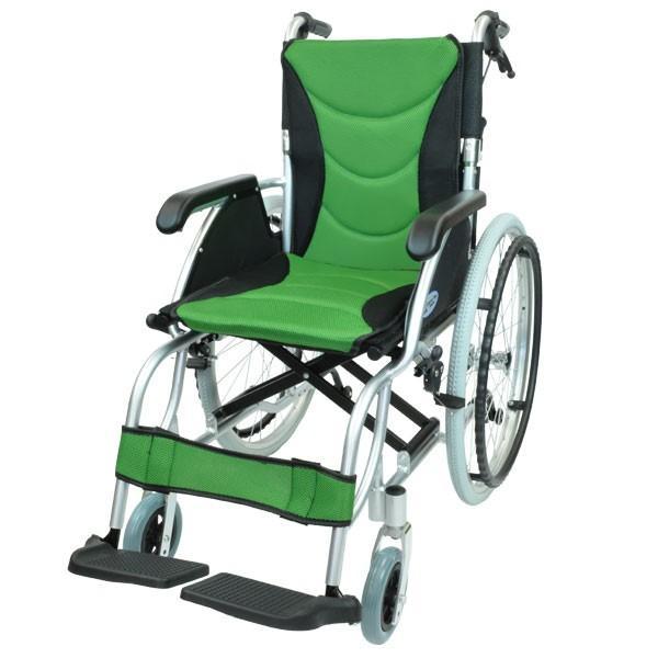 車椅子 軽量 折りたたみ コンパクト ケアテックジャパン ハピネスプレミアム CA-32SU 自走式 シート交換可能|yua-shop|18