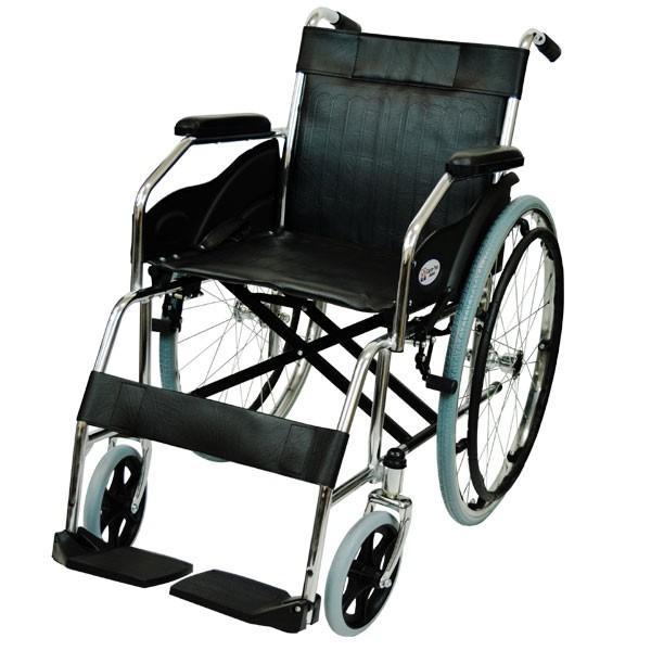 折りたたみ 自走車椅子 ケアテックジャパン ウィッシュ CS-10 自走専用 ノーパンクタイヤ|yua-shop|13