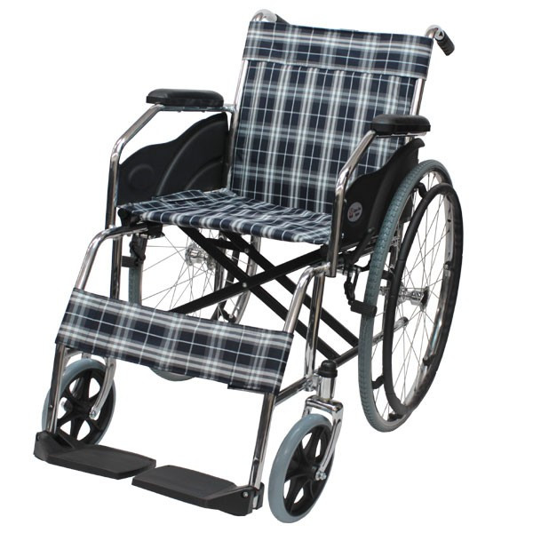 折りたたみ 自走車椅子 ケアテックジャパン ウィッシュ CS-10 自走専用 ノーパンクタイヤ yua-shop 14
