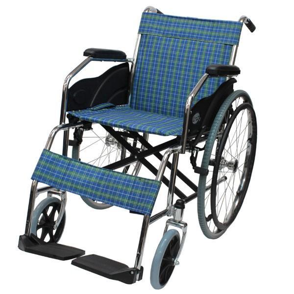 折りたたみ 自走車椅子 ケアテックジャパン ウィッシュ CS-10 自走専用 ノーパンクタイヤ|yua-shop|15