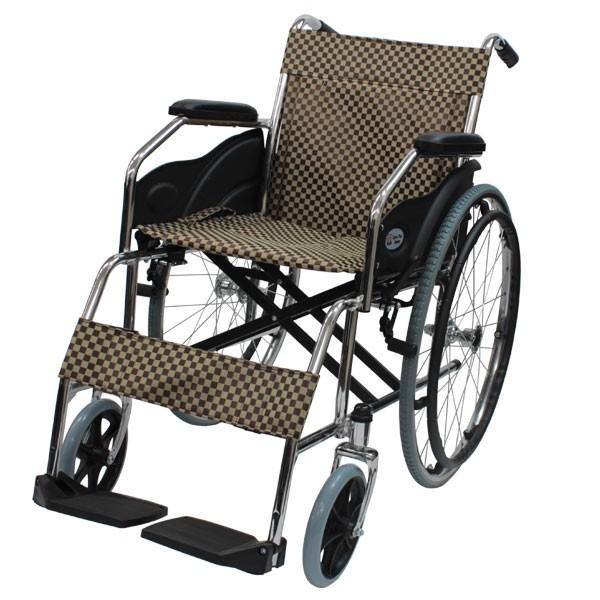 折りたたみ 自走車椅子 ケアテックジャパン ウィッシュ CS-10 自走専用 ノーパンクタイヤ|yua-shop|16