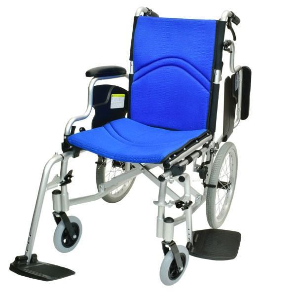 車椅子 折りたたみ コンパクト ケアテックジャパン コンフォート-介助式- CAH-20SU 旧ウィル シート交換可能 yua-shop 14