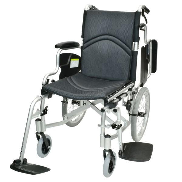車椅子 折りたたみ コンパクト ケアテックジャパン コンフォート-介助式- CAH-20SU 旧ウィル シート交換可能 yua-shop 17