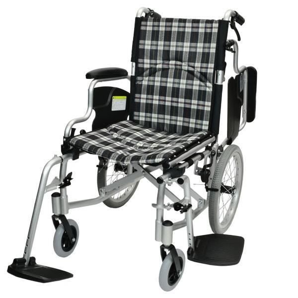 車椅子 折りたたみ コンパクト ケアテックジャパン コンフォート-介助式- CAH-20SU 旧ウィル シート交換可能 yua-shop 20