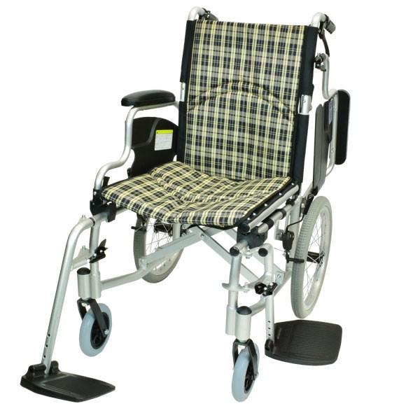 車椅子 折りたたみ コンパクト ケアテックジャパン コンフォート-介助式- CAH-20SU 旧ウィル シート交換可能 yua-shop 19