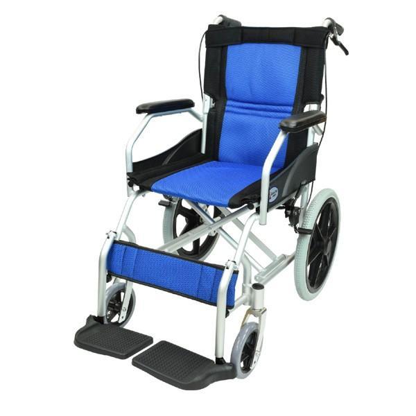 車椅子 軽量 折りたたみ コンパクト ケアテックジャパン ハピネスライト-介助式- CA-22SU【お得なシート2枚セット】|yua-shop|15