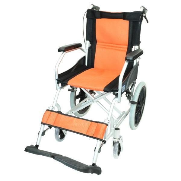 車椅子 軽量 折りたたみ コンパクト ケアテックジャパン ハピネスライト-介助式- CA-22SU【お得なシート2枚セット】|yua-shop|16