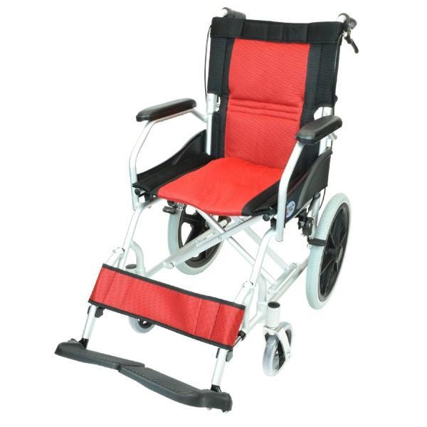 車椅子 軽量 折りたたみ コンパクト ケアテックジャパン ハピネスライト-介助式- CA-22SU【お得なシート2枚セット】|yua-shop|17