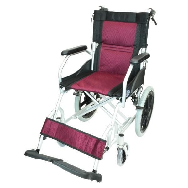 車椅子 軽量 折りたたみ コンパクト ケアテックジャパン ハピネスライト-介助式- CA-22SU【お得なシート2枚セット】|yua-shop|20