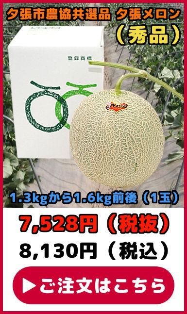 共選品夕張メロン【秀品】(1玉)