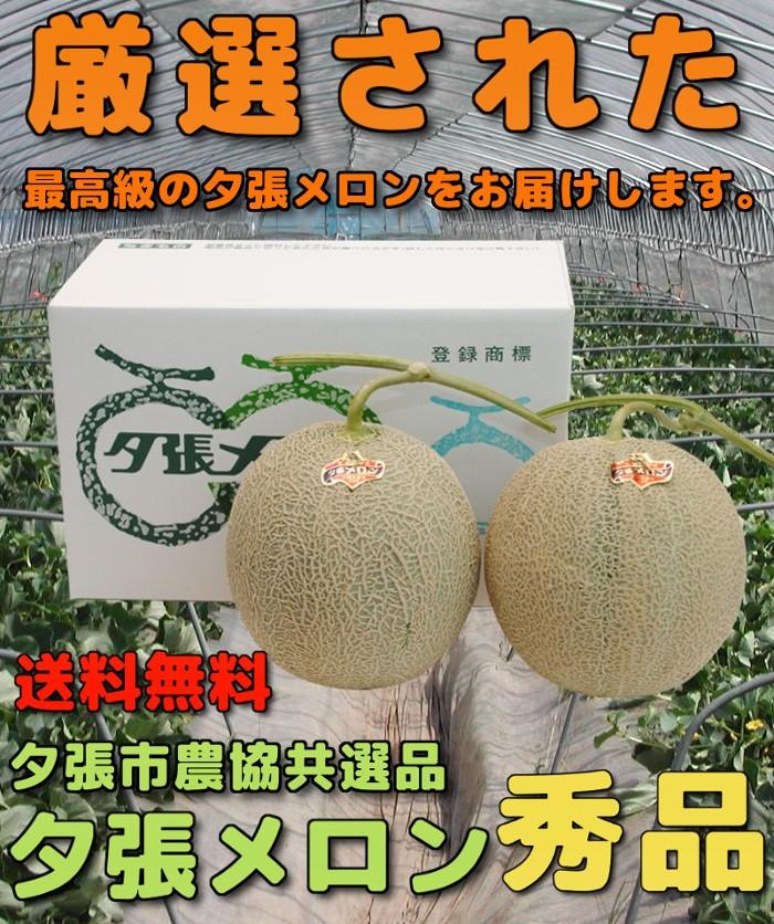 送料無料・夕張市農協共選品(秀品)
