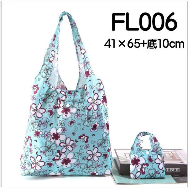 マチ付きMサイズのエコバッグ お買い物や普段使いにも便利 軽量で折りたたみ可能|yume-ribbon|12