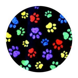 不織布マスクがそのまま使える布マスクカバー 肉球プリント 肌側に抗ウイルス・抗菌素材使用 猫 犬 日本製 コットン100%|yume-ribbon|25