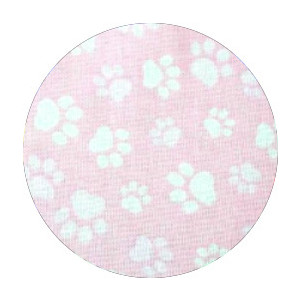 不織布マスクがそのまま使える布マスクカバー 肉球プリント 肌側に抗ウイルス・抗菌素材使用 猫 犬 日本製 コットン100%|yume-ribbon|23