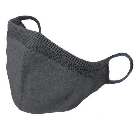 温度調整機能  オールシーズン対応 オシャレニットマスク 柔らかな肌触り 日本製 編み込み一体型 yume-ribbon 16