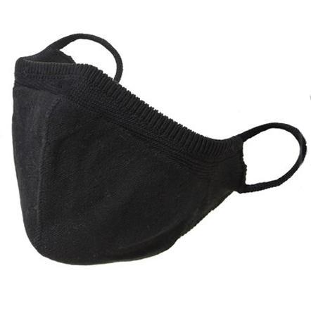 温度調整機能  オールシーズン対応 オシャレニットマスク 柔らかな肌触り 日本製 編み込み一体型 yume-ribbon 14
