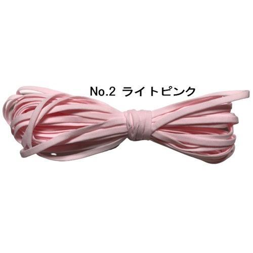 耳が痛くなりにくいマスク専用カラーゴム紐。|yume-ribbon|03