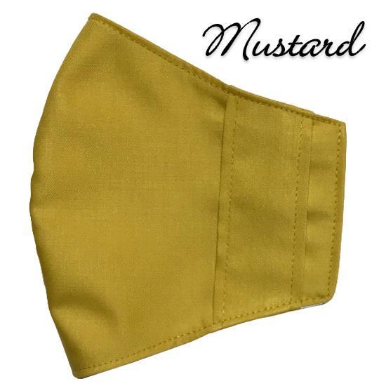 無地マスクカバー 柄もの不織布マスク用  夏でも使える裏側接触冷感メッシュ 表側ポリエステル生地でしわにならない yume-ribbon 27