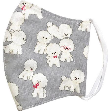 可愛い子犬が一杯の布マスク|yume-ribbon|11
