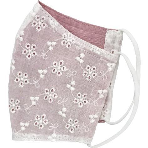 小花レースとガーゼのおしゃれマスク|yume-ribbon|12